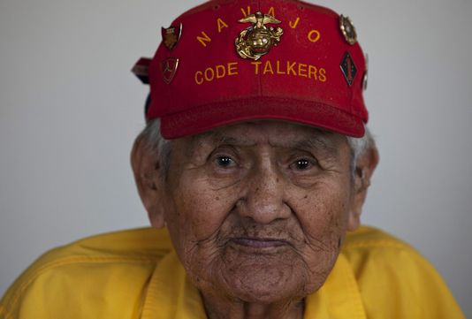 chester nez Chester nez served as a navajo code talker in the united states marine corp during world war ii having been one of the first initial 29 navajo code talkers.