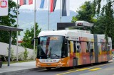 Electric Buses in Switzerland Flash Charge in 15 Seconds