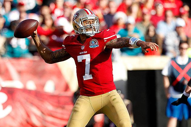kaepernick 49ers Gold Rush