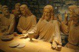The Last Supper: Artist's Life-Size Wood Carving Masterpiece in Kansas City