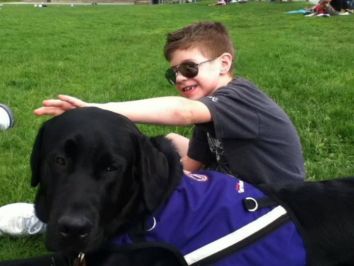Autism Service Dog Saves the Day