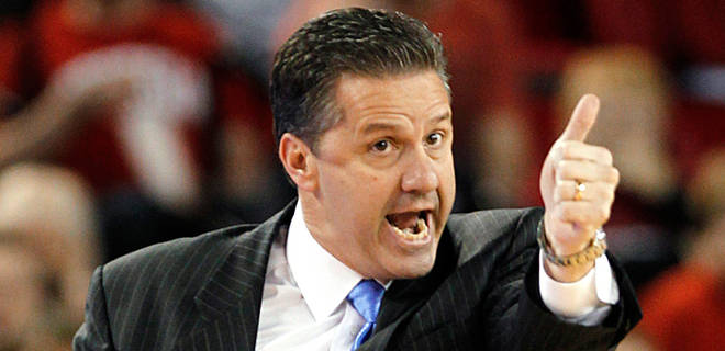 Kentucky Shows John Calipari the Money