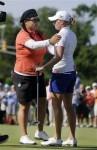 Hideki Matsuyama Golf Shots Stacy Lewis