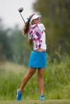 Michelle Wie Golf Shots Lexi Thompson