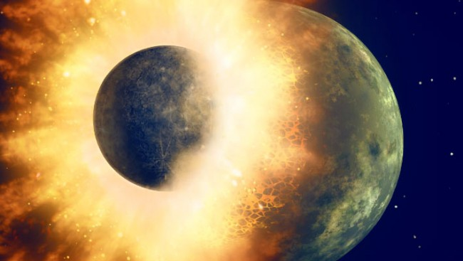 Moon Rocks Have Exposed Actual Evidence of Collision That Created the Moon?