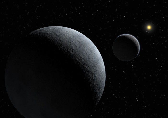 NASA's Theory About Water on Pluto's Moon