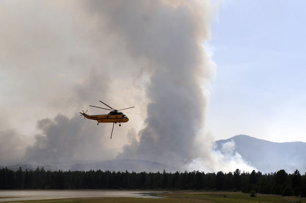 Oregon Wildfires Impact Residents Health