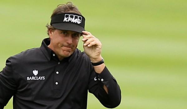 Phil Mickelson Golf Shots