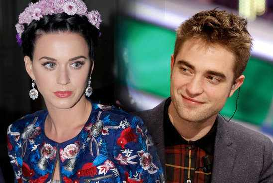 Katy Perry And Robert Pattinson 2014