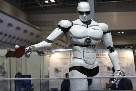 Robots Advancing in Technology