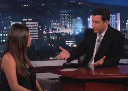 Mila Kunis Says Men Are Not Pregnant