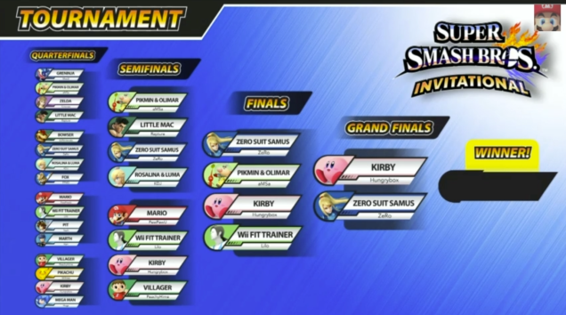 Super Smash at E3 Full Bracket