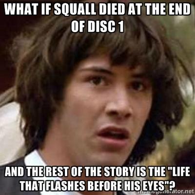 Final Fantasy 8 fan theory