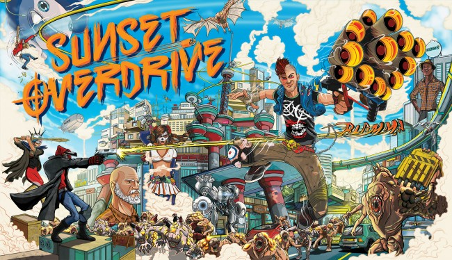 Insomniac ready to release Sunset Overdrive on Xbox One October 28