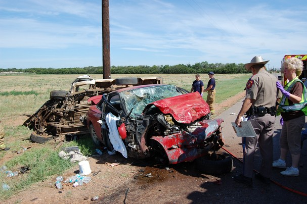 Texas Husband and Wife Both Killed After Run Into Each Other in Car Accident