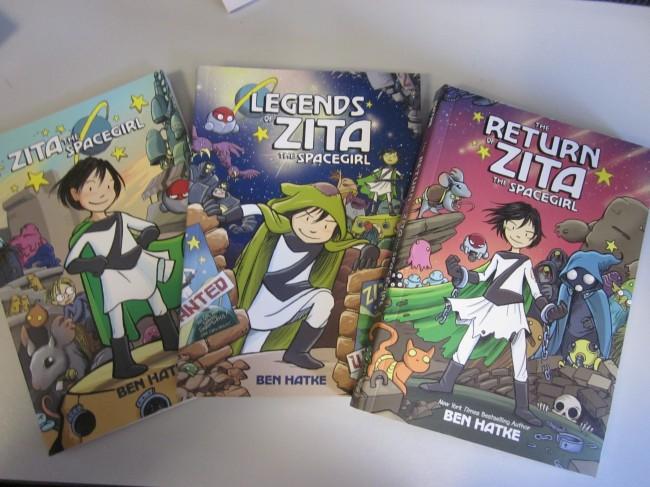 The Return of Zita The Spacegirl by Ben Hatke (Book Review)