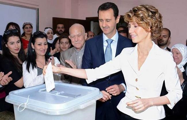 Bashar al-Assad Reelected as President