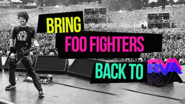 Four Foo Fighters Fans Bring Band Back to Perform in Virginia