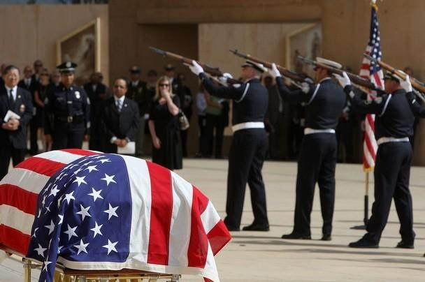 Police Officer Honored Laid to Rest in Wyoming