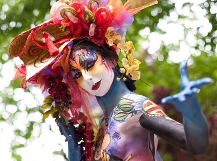 World Body Painting Festival 2014 in Austria
