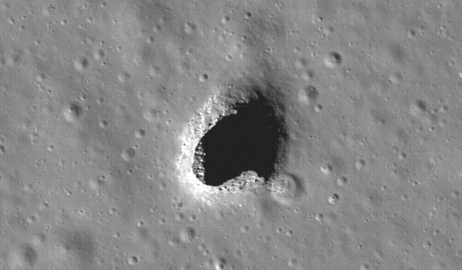 Astronomers Have Discovered Cave Pits Perfect for Lunar Bases on Moon
