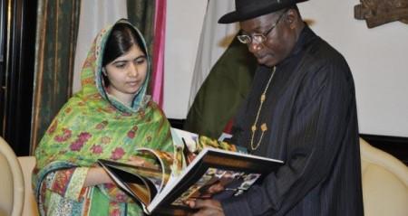 Boko Haram, Malala, Nigerian president