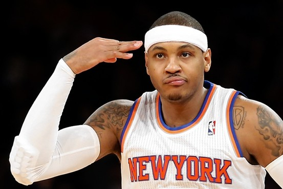 Carmelo Anthony's Weaknesses Will Continue to Be Exposed in New York