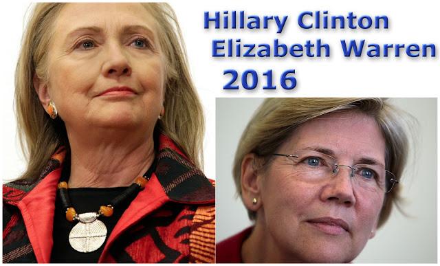 Hillary Clinton Elizabeth Warren 2016 Campaign