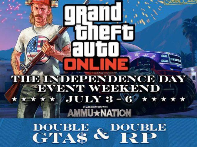 Rockstar Games GTA Online double rp doubl gta$ event