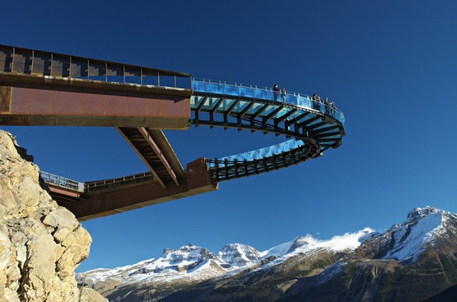 Glacier Skywalk Jasper National Park