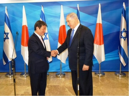 Israel, Japan