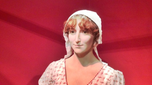 Jane Austen: New Wax Figure Revealed