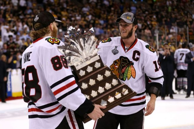 Jonathan Toews Patrick Kane Chicago Blackhawks NHL Daily