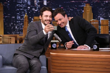 Jimmy Fallon Jokes Around With James Franco [Video]