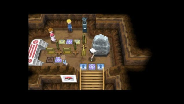 Pokemon Secret bases