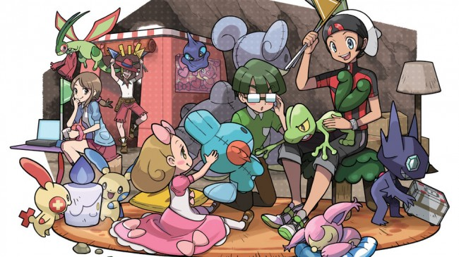 Pokemon Omega Ruby and Alpha Sapphire have secret bases