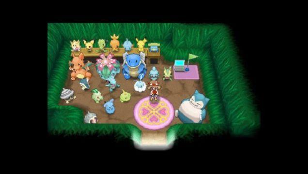 Pokemon Secret bases Omega Ruby Alpha Sapphire