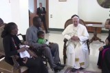 Sudan Woman Meets the Pope