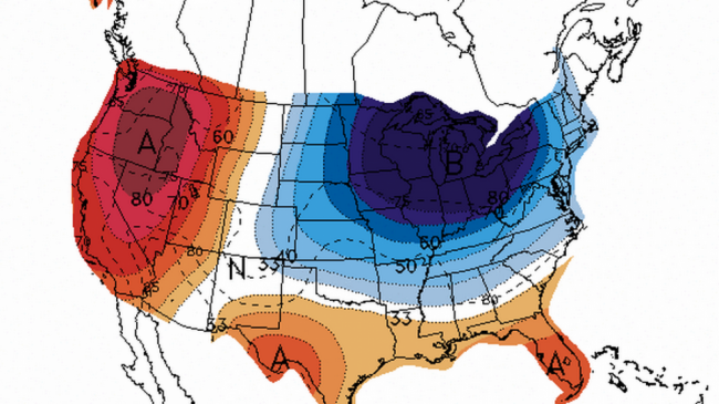 Summer Polar Vortex Possibly Showing Up Next Week