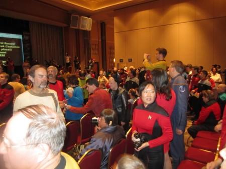 Star Trek Convention Las Vegas 2014 Pre Registration is Busy