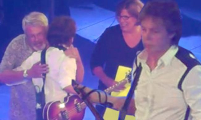 Paul McCartney Helps John Dann Propose During Saturday Concert