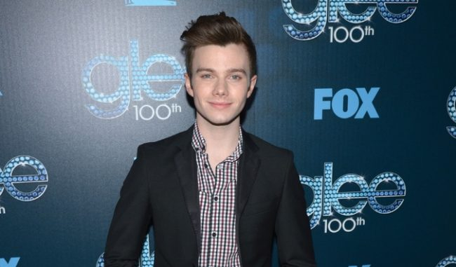Glee Actor Chris Colfer Not Fired Just Hacked