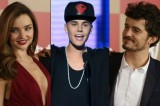 Justin Bieber and Orlando Bloom Get Violent