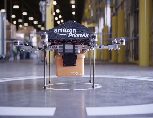 Amazon Seeks Permission for Drone Deliveries