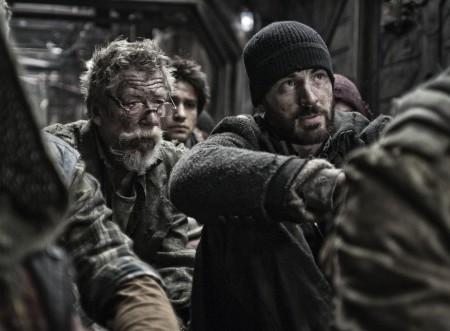 Snowpiercer: Chris Evans in Korean Science Fiction Thriller (Review/Trailer)