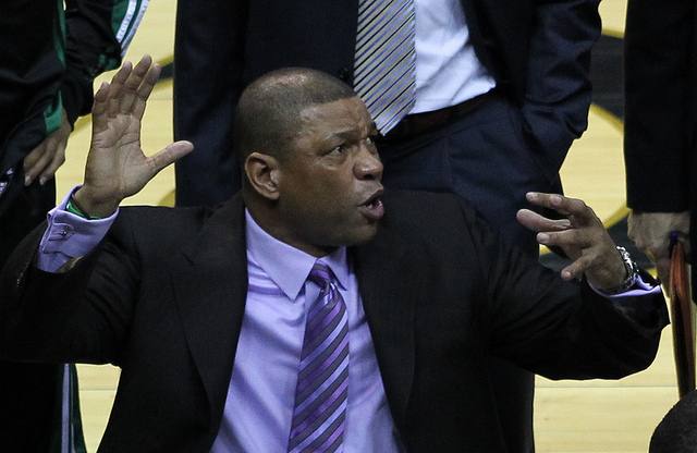 Los Angeles Clippers Hand Doc Rivers Massive Extension