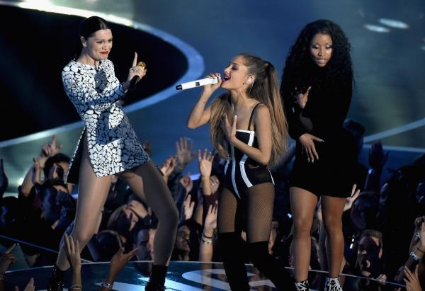 VMAs Ariana Grande Nicki Minaj Jessie J