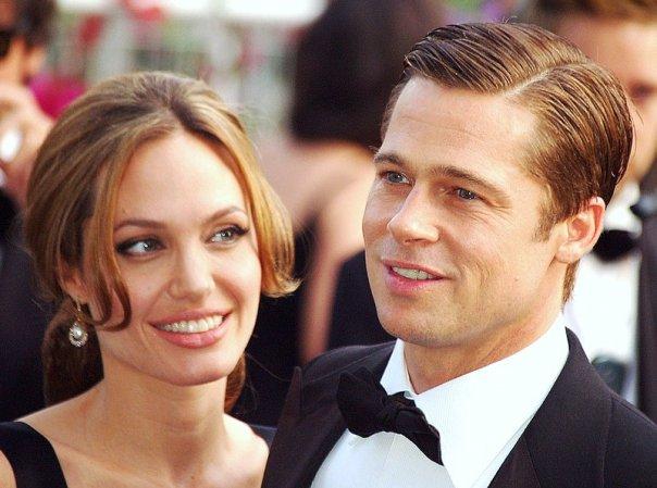 Brad Pitt and Angelina Jolie Got Married