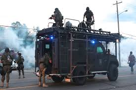 Ferguson Becomes Newest War Zone