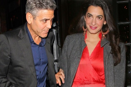 George Clooney and fiancée Amal Alamuddin One Step Closer to Getting Married